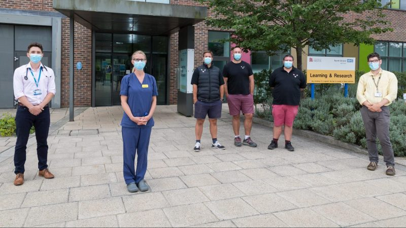 Jolly Hog Brothers at Southmead Hospital