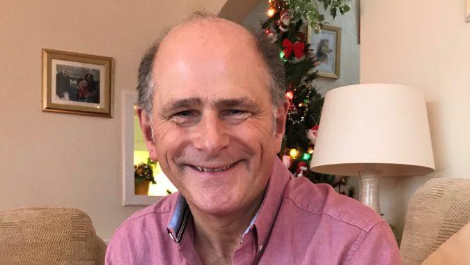 Photo of John at home