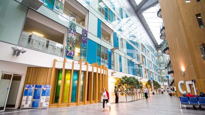 Photo of Atrium of Southmead Hospital